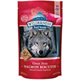 Blue Buffalo Wilderness Trail Treats Grain-Free Salmon Biscuits 10 Oz