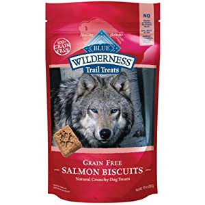Blue Buffalo Wilderness Trail Treats Grain-Free Salmon Biscuits 10 Oz