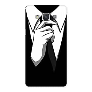 Delighted Tie Knot Back Case Cover for Galaxy Grand 3