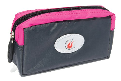 FuelBelt FuelBelt Rock n Roll Collection Ripstop Pocket Belt Loop, Hibiscus/Carbon, Medium