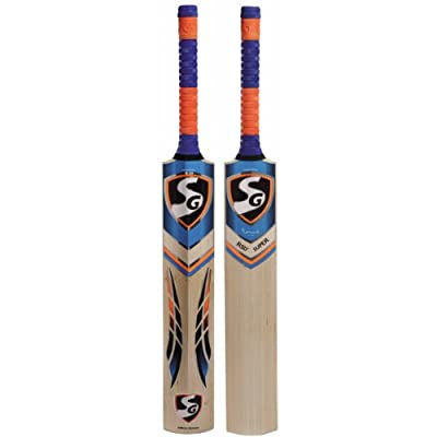 SG RSD Super English Willow Cricket Bat, Short Handle