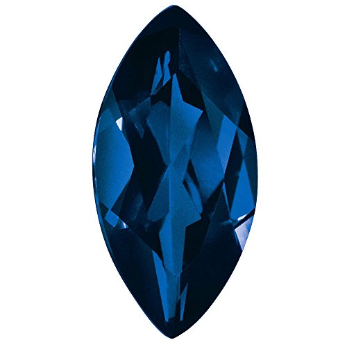 Loose Natural Sapphire Gemstone Blue 3x1.5mm Marquise A Quality (Natural Sapphire Stone compare prices)