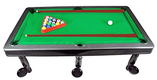 Mini Master World Champion Pool Billiard Table Snooker Set (Toy) by ToyFactory günstig bestellen