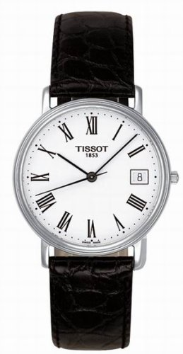 Tissot Men&#8217;s T52.1.421.13 T-Classic Desire Leather Watch