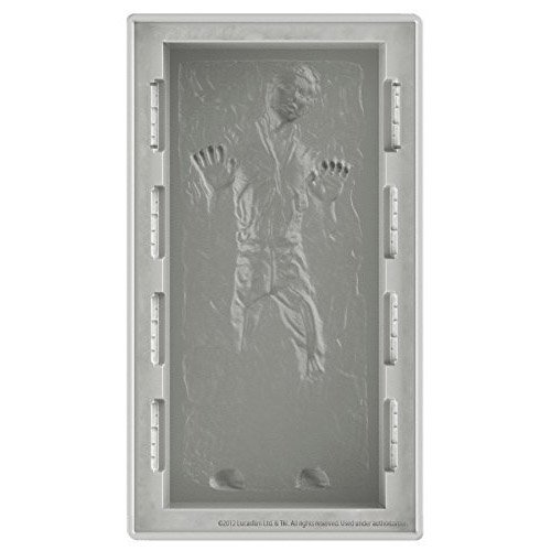 Star Wars Han Solo in Carbonite Silicone Ice Tray / Mold - Deluxe (DX)