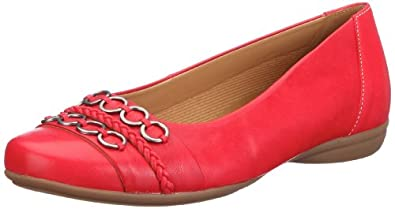 Gabor Shoes Comfort 4262638, Damen Ballerinas, Rot (kiss), EU 35 (UK 2.5)