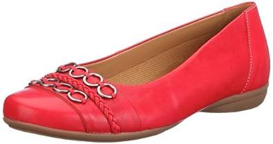 Gabor Shoes Comfort 4262638, Damen Ballerinas, Rot (kiss), EU 35 (UK 2.5)