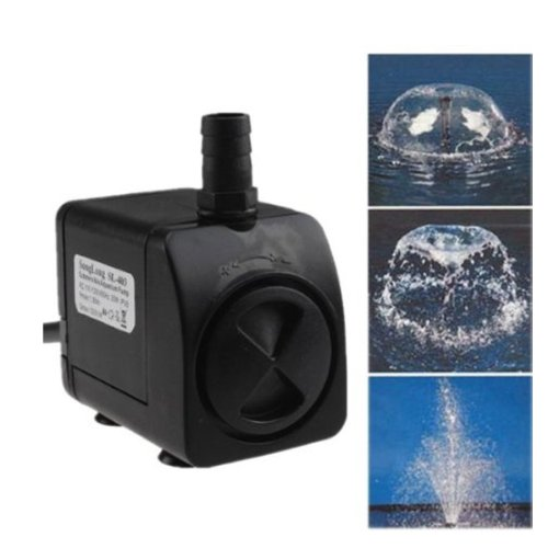 AGPtek® 320GPH Electric Submersible Indoor Outdoor Water Fountain Pool Pump