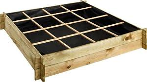 carr potager sur pied faire soit m me. Black Bedroom Furniture Sets. Home Design Ideas