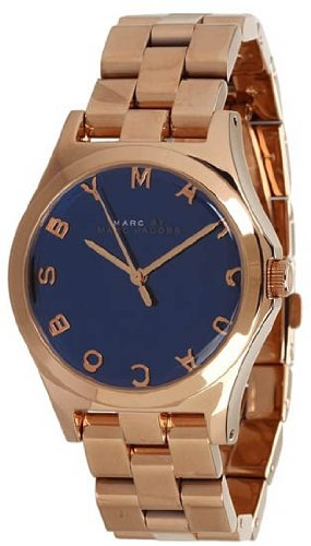 Marc by Marc Jacobs Henry Blue Dial Women's Quartz Watch - MBM3213