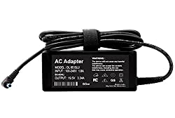 LappyOn Compatible Replacement AC Adapter for Dell blue pin 19.5v3.34A 65W