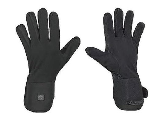 Venture Battery Powered Heated Glove Liners , Gender: Mens/Unisex, Primary Color: Black, Size: XS, Distinct Name: Black BX-923 XS