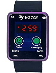 Gypsy Club GC78 Time Blue Led Ultra Smooth Touch Sreen Digital Watch - For Men, Boys, Women, Girls