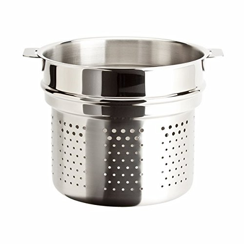 Cristel Multiply 18/10 Stainless Steel 7 Quart Pasta Insert