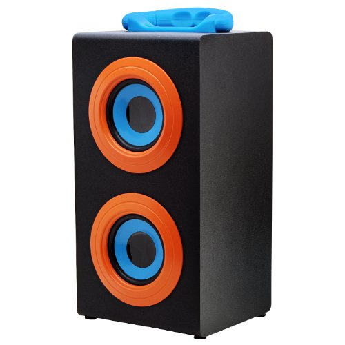 Vibe Sound Vs-577C-Org Portable Fashion Retro Wood Speakers