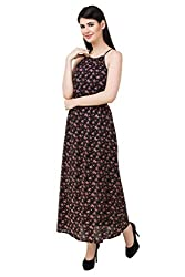 Mind The Gap Women's Cotton Long Dress