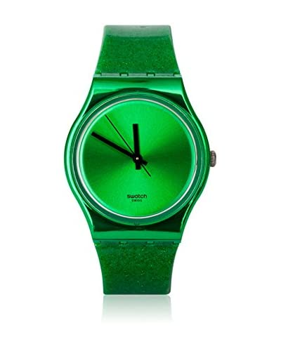Swatch Quarzuhr Woman DEEP SHINE GREEN GG213 34 mm
