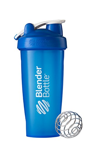 Blenderbottle Classic Loop Top Shaker Bottle, Blue, 28 Ounce