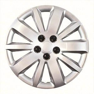 "Set of 4 New 16"" inch Silver Hub Cap Wheel Covers for 2011 thru 2015 Chevrolet Cruze"