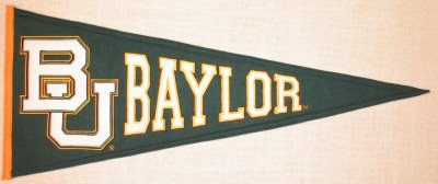 Pennants: Baylor University Traditions College Pennant