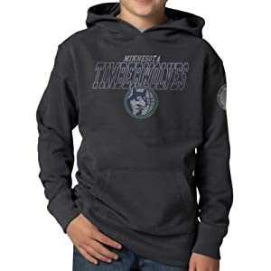 NBA Minnesota Timberwolves Playball Hoodie Jacket, Graphite by