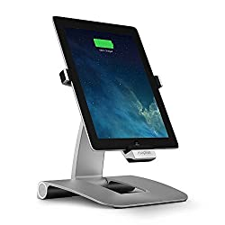 SGC Mophie Aluminum Powerstand Dual Power Station Charger Case Cover for Apple iPad 4