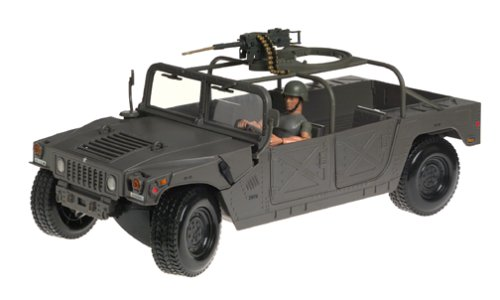 Buy Low Price Hasbro G.I. Joe 1:6 Scale Humvee Vehicle Figure (B00008YSPY)