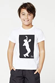 Boy's Short Sleeve Andy Roddick Print Graphic T-Shirt