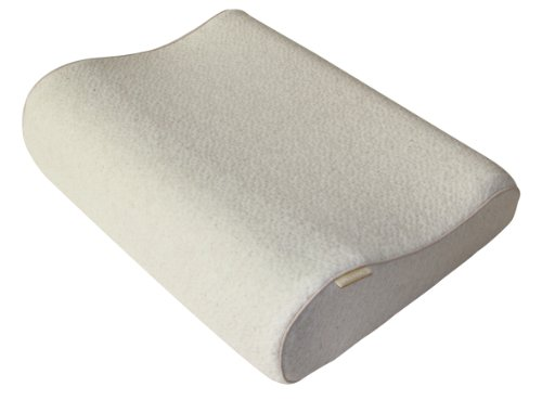 Keetsa Eco Friendly Tea Leaf Bio Memory Foam Contour Pillow