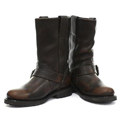 harley davidson darice femme biker bottes marron cuir pointure 39 chaussures et sacs. Black Bedroom Furniture Sets. Home Design Ideas