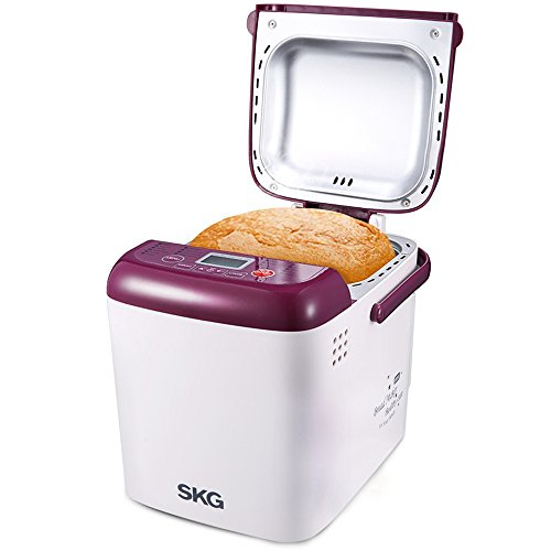 Purchase SKG Automatic Programmable 1-LB Mini Bread Maker, Purple / White