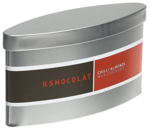 Buy Kshocolt Chilli Almonds In Milk Chocolate Gift Tin, 2.8-Ounce Tins (Pack of 3) (Kshocolt, Health & Personal Care, Products, Food & Snacks, Snacks Cookies & Candy, Candy)