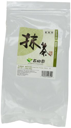 41A552smbUL # Maeda En Matcha Powder Bulk, Matcha Green Tea Powder   1.1 LB Large Bag Discount !!