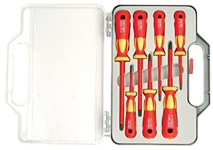 SD-8011 Insulated Screwdriver Set (7 Pc)