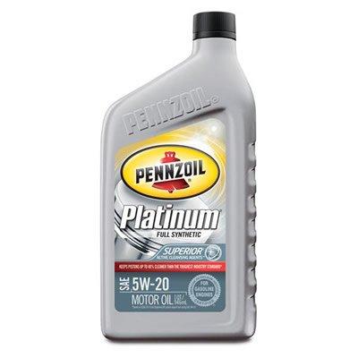 PENNZOIL(ペンゾイル) Platinum Full Synthetic Motor Oils プラチナ モーターオイル 5W-30 エンジンオイル(946ml)