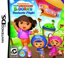 Imagen de Vuelo fantástico Nickelodeon Team Umizoomi & de Dora - Nintendo DS