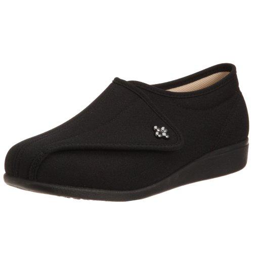[アサヒ] 婦人靴快歩主義 L011 KS20523 (ブラックストレッチ/23.5)