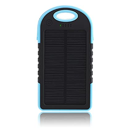 Patuoxun-PB18D-5000mAh-Solar-Power-Bank