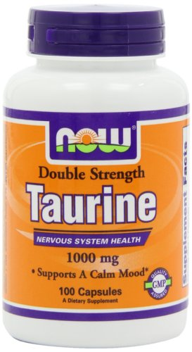 Now Foods Taurine 1000Mg, 100-Capsules (1000 Mg Taurine compare prices)