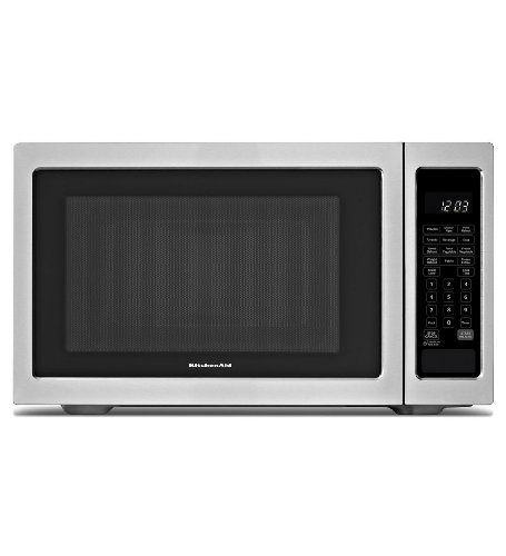 Kitchenaid Kcms2255Bss: Kitchenaid &Reg; 2.2 Cu. Ft., 1200W Countertop Microwave Oven - Black-On-Stainless front-125411