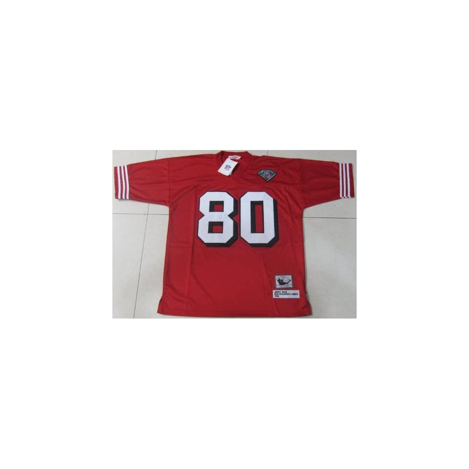 Jerry Rice Jerseys? San Francisco 49ers #80 Jerry Rice Red Throwback