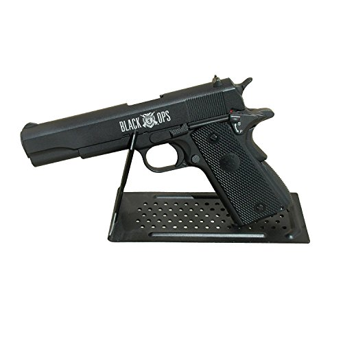 Details for Black Ops 1911 Full Metal Co2 Blowback Air Pistol + 40 Free Zombie Targets by Black Ops