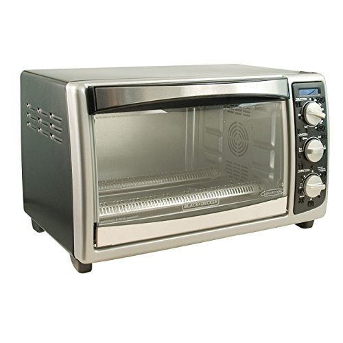 Black & Decker TRO4075B Toast-R-Oven 1500-Watt 4-Slice Toaster Oven (Black And Decker Oven Tray Part compare prices)