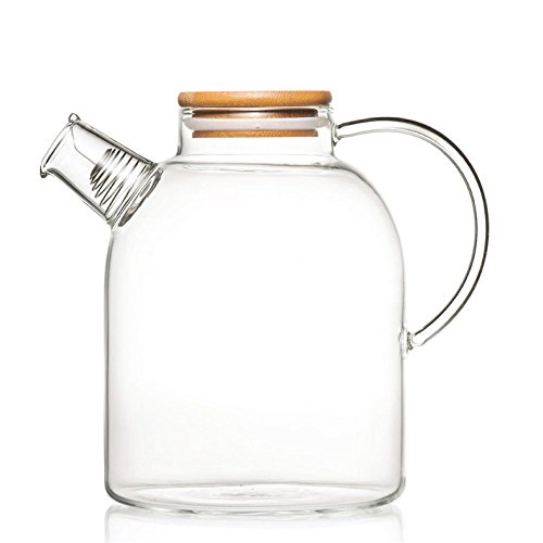 tealyrar-60-fl-oz-glass-water-pitcher-kettle-w-bamboo-lid-and-filter-large-capacity-water-vaso-glass