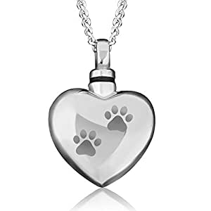 Cremation urn jewelry ashes holder necklace for Cremation jewelry for pets ashes