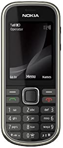 Nokia 3720 classic Handy (Outdoor, Bluetooth, E-Mail, Ovi, Kamera mit 2 MP) grey