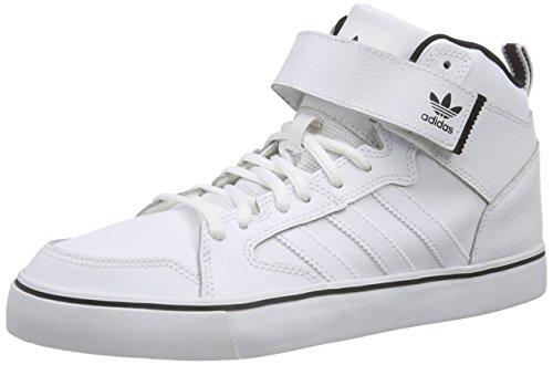 adidas - Varial II Mid, alte scarpe da ginnastica uomo, color Bianco (Ftwr White/Ftwr White/Core Black), talla 42 2/3