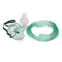 IndoSurgicals Nebulizer face mask kit for Adults (5 Piece)