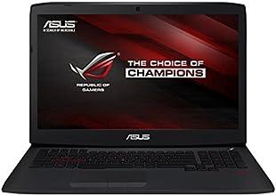 """Asus ROG G751JY-T7327H PC Portable Gamer 17,3""""  (Intel Core i7, 16Go de RAM, Disque dur 1 To + SSD 128 Go, Nvidia GeForce GTX980M, Mise à jour Windows 10 gratuite)"""