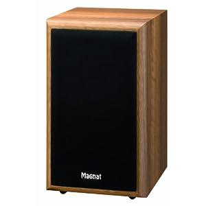 Magnat Monitor Supreme 100 2-Wege Regallautsprecher Paar, Bassreflex 89 dB nuss